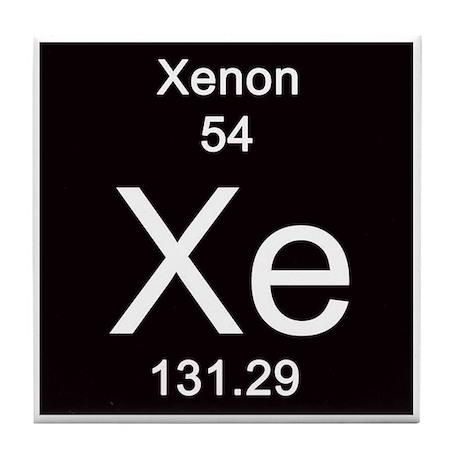 Xenon Periodic Table Periodic Table Xenon T...