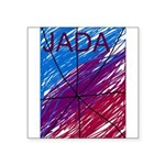 JADA STARR.JPG Square Sticker 3