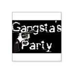 gangsta Square Sticker 3