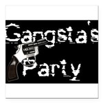 gangsta Square Car Magnet 3