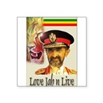 love-Jah-n-Live II.jpg Square Sticker 3