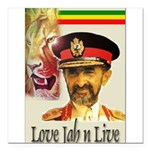 love-Jah-n-Live II.jpg Square Car Magnet 3