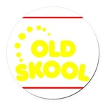 ols_school Round Car Magnet
