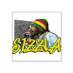 sizzla Square Sticker 3