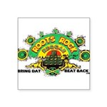 ROOTS ROCK REGGAE.. Square Sticker 3