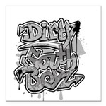 dirty south Square Car Magnet 3