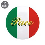 "Italian Peace 3.5"" Button (10 pack)"