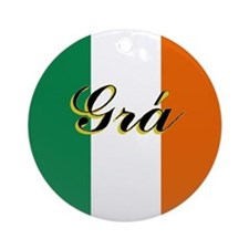 "Irish Flag ""Joy"" Ornament"