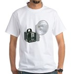 The Brownie Hawkeye Flash Model White T-Shirt
