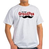 Best Grandpas Have Mustaches T-Shirt