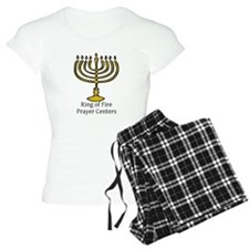 Ring of Fire Menorah Pajamas