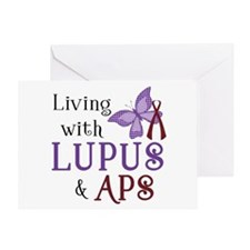 Living with Lupus APS Greeting Card