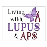 Living with Lupus APS Small Poster