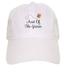 Aunt of the Groom Gift Baseball Cap