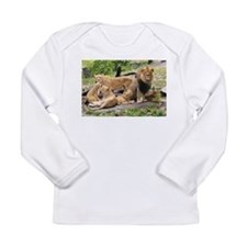 LION FAMILY Long Sleeve Infant T-Shirt