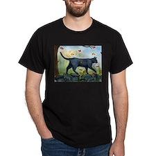 Cute Cat art T-Shirt