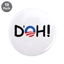 "D'oh! 3.5"" Button (10 pack)"