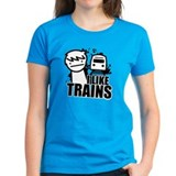 I Like Trains! Tee