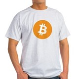 T-Shirt with bitcoin logo