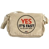 Yes Its Fast copy2.png Messenger Bag