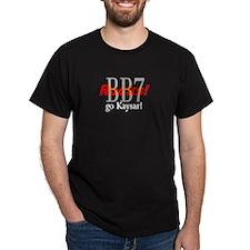 Go Kaysar! Black T-Shirt