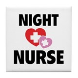 Night Nurse Tile Coaster