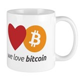 Small Mug | we love bitcoin