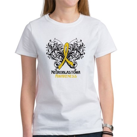 Butterfly Neuroblastoma Women's T-Shirt