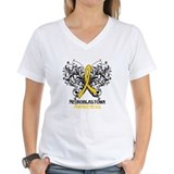 Neuroblastoma Womens V-Neck T-shirts