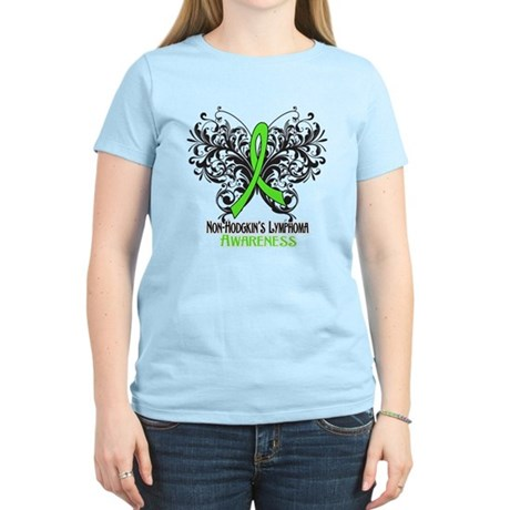 Butterfly Non-Hodgkins Women's Light T-Shirt