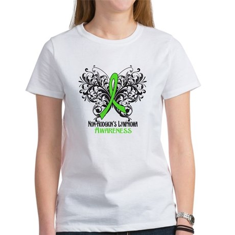 Butterfly Non-Hodgkins Women's T-Shirt
