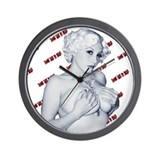 Some Like It Dead Wall Clock