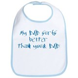 Cute Baby kids family Bib