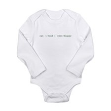 Unique Nerdy baby Long Sleeve Infant Bodysuit