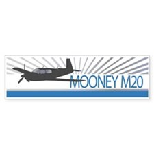 Aircraft Mooney M20 Bumper Sticker