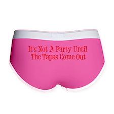 Not A Party Until Tapas Come Out Women's Boy Brief