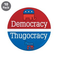 "Thugocracy (map) 3.5"" Button (10 pack)"