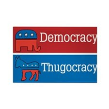 Thugocracy (map) Rectangle Magnet (10 pack)