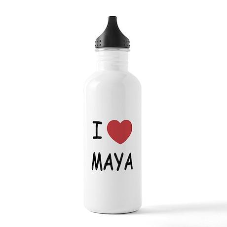 I heart Maya Stainless Water Bottle 1.0L
