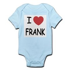 I heart Frank Infant Bodysuit