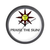 Praise the Sun! Wall Clock
