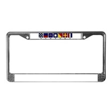 Nautical Newport License Plate Frame