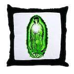 The Virgin Bride Throw Pillow