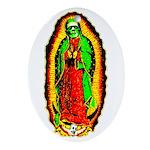 The Virgin Monster Ornament (Oval)