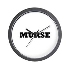 Murse - Male Nurse Wall Clock