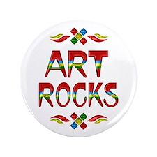 """Art Rocks 3.5"""" Button"""