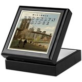 Historic Brooklyn Bridge Keepsake Box