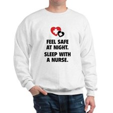 Feel Safe At Night Sweatshirt