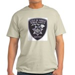 Hawaii Sheriff Ash Grey T-Shirt