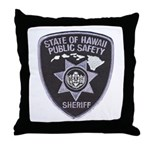 Hawaii Sheriff Throw Pillow